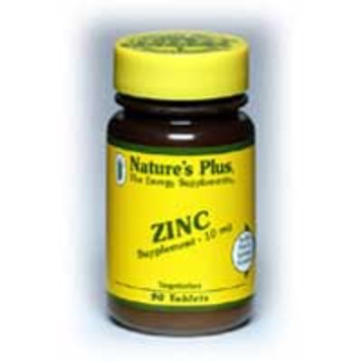 NATURES PLUS ZINC 10MG TABS 90S (3630)