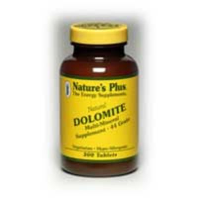 NATURES PLUS DOLOMITE 712MG TABS 300S (3870)