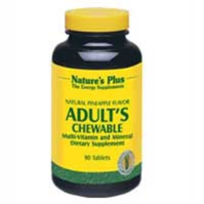 NATURES PLUS ADULT S CHEWABLE TABS 90S (3087)