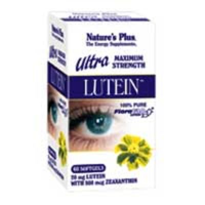 NATURES PLUS ULTRA LUTEIN CAPS 60S (49265)