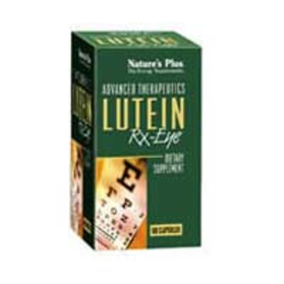 NATURES PLUS LUTEIN RX-EYE CAPS 60S (5003)