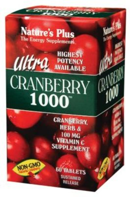 NATURES PLUS ULTRA CRANBERRY 1000 TABS 60S (3952)