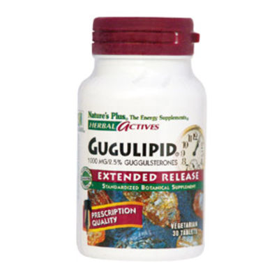 NATURES PLUS GUGULIPID 750MG CAPS 60S (7192)