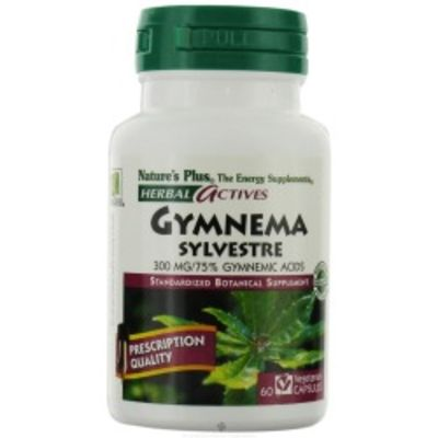 NATURES PLUS GYMNEMA SILVESTRE 300MG CAPS 60S (7196)