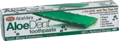 OPTIMA HEALTH ALOE DENT TRIPLE ACTION TOOTHPASTE 100ML