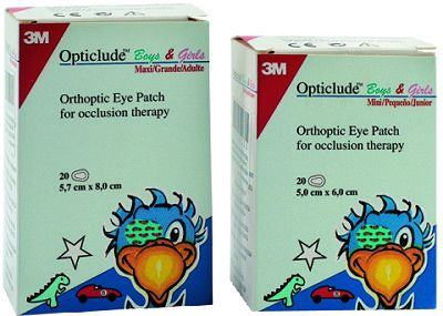 3M OPTICLUDE MAXI ΠΑΙΔΙΚΟ 20τεμ