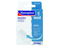 HANSAPLAST MED SENSITIVE+SILVER 2 ΜΕΓEΘΗ 20τεμ