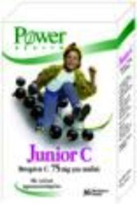 POWER HEALTH JUNIOR C 75MG TABS 36S