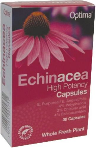 OPTIMA HEALTH ECHINACEA HIGH POTENCY VEG.CAPS 30S