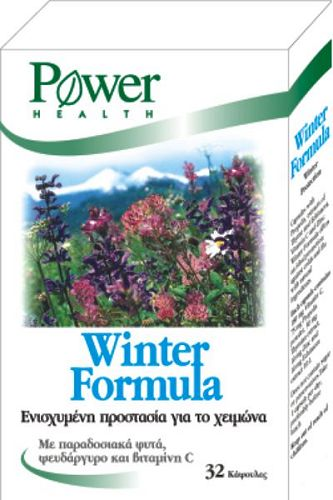 POWER HEALTH WINTER FORMULA CAPS 32S
