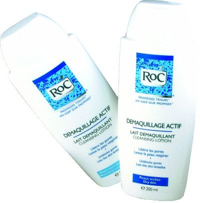 ROC LAIT DEMAQUILLAGE ACTIF PN/PM 200ML
