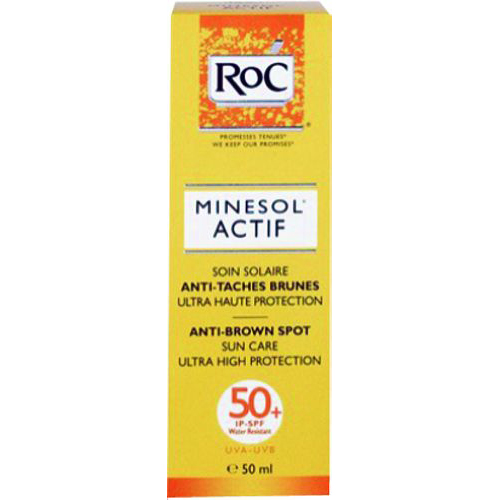 ROC SOLEIL PROTEXION+ SPF 50+ ANTI-BROWN SPOT CARE 50ML