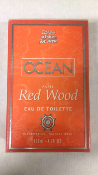 CORINE DE FARM MEN OCEAN RED WOOD EDT 125ML