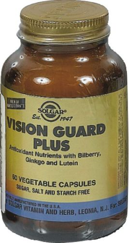 SOLGAR VISION GUARD PLUS VEG.CAPS 60S